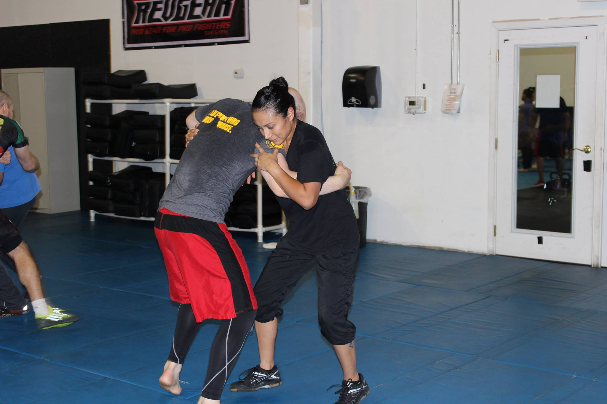 Self defense training at Krav Maga